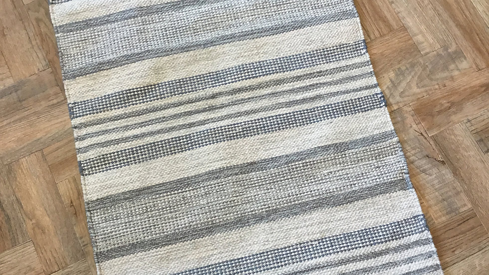 Blue / Grey Stripe Walton Lifestyle Rug