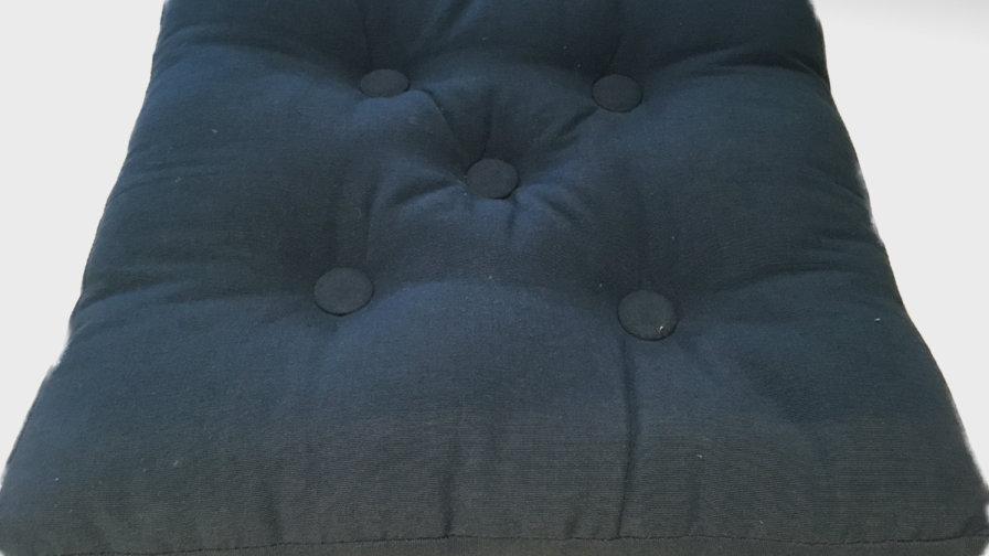 Navy Seat Cushion Pad