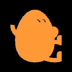 Orange Hatch