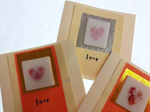 Heart token cards