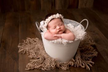 Neutral newborn photos