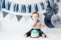 Blue First Birthday