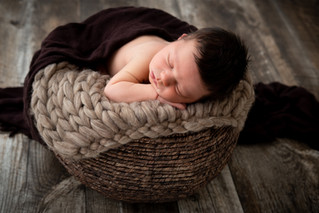 Newborn with tons of hair