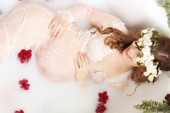 tulsa milk bath maternity