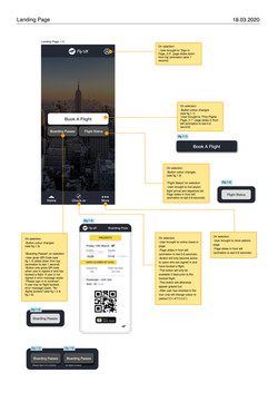 FlyUX Wireframes_Landing page