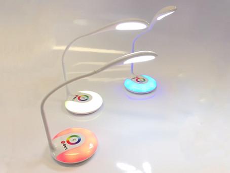 Lampes publicitaires LED flexible et tactile 256 couleurs 3 intensités lumineuses sans fil- REIMS