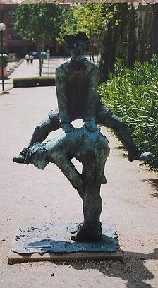 escultura_gonzalo_coello_juegos_del_ayer