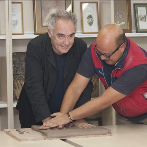 Modélisation des empreintes avec Ferran Adriá