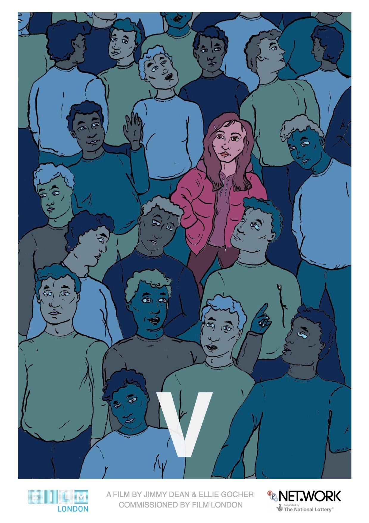 Poster for 'V' Short Film