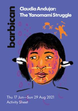 Claudia Andujar: The Yanomami Struggle - the Barbican Activity Sheet