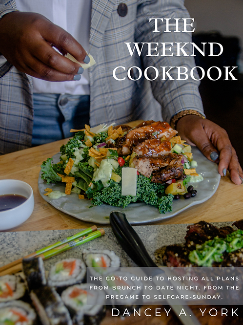 The Weeknd Cookbook