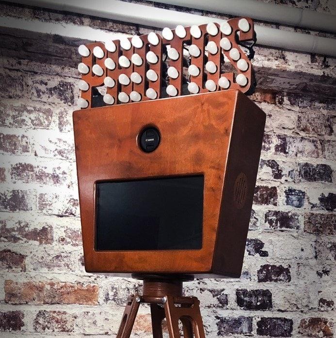 Vintage Fotobox Light