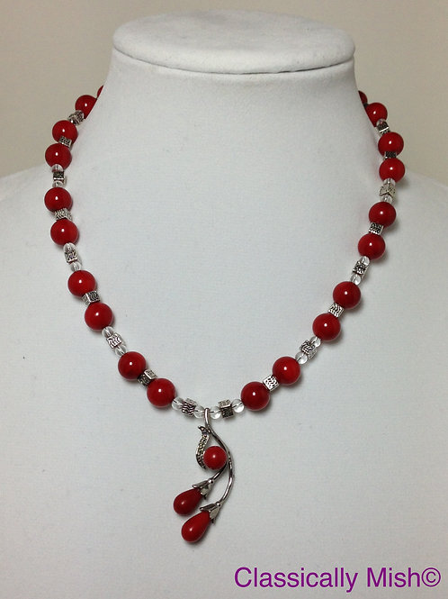 Bamboo Coral in Red