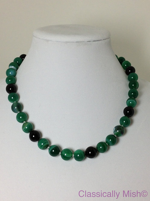 Kelly Green Onyx