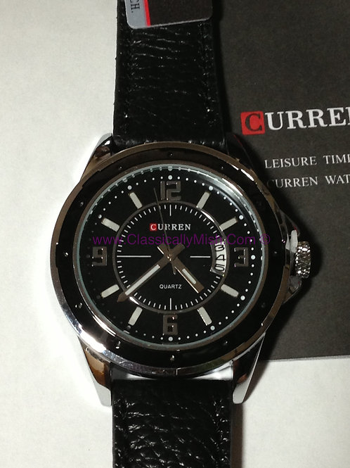 GAGA Curren Black Men's Watch