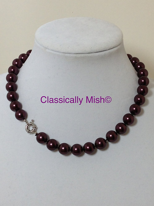 Chocolate Shell Pearl 10mm