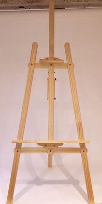 Free-Standing Pine Artist's Easel