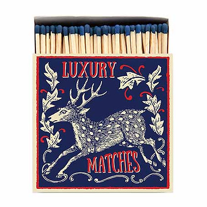 Stag Square Matchbox by Archivist Gallery