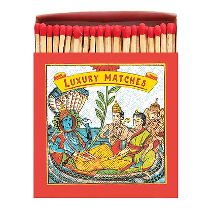 Temple 4 Square Matchbox by Archivist Gallery