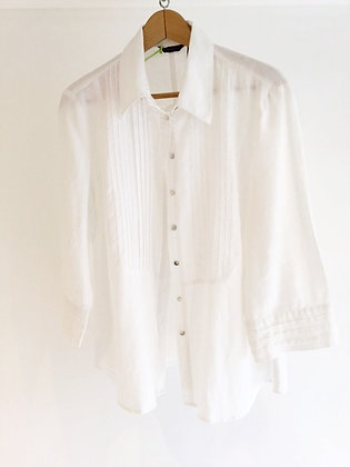 Pleated Linen Shirt E.col.o.gie