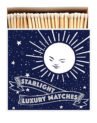 Starlight Square Matchbox by Archivist Gallery