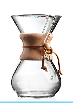 Six Cup Classic Chemex® Drip Filter Coffee Maker