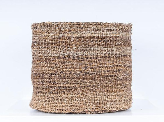 MATUNDA: Banana Fibre Woven Basket by The Basket Room