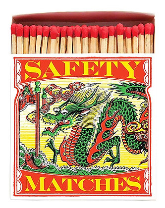 Dragon Square Matchbox by Archivist Gallery