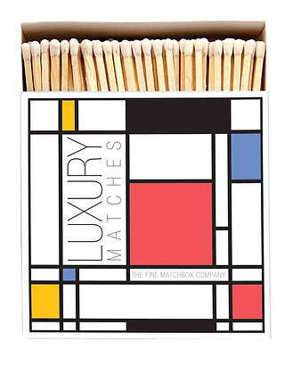 Mondrian Square Matchbox by Archivist Gallery