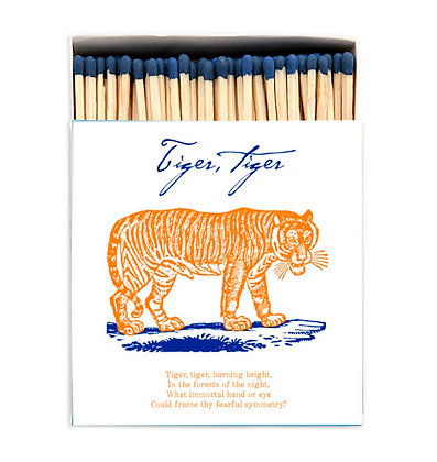 Tiger Tiger Matchbox by Archivist Gallery