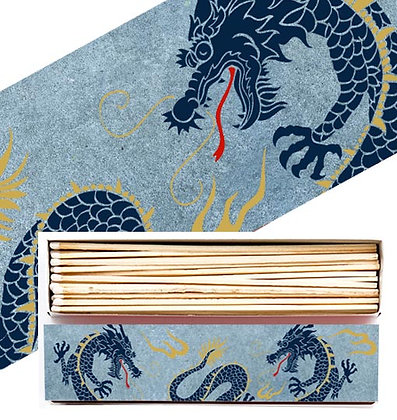 Dragon Long Matchbox by Archivist Gallery