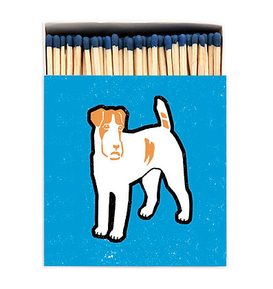 Dog Square Matchbox by Archivist Gallery