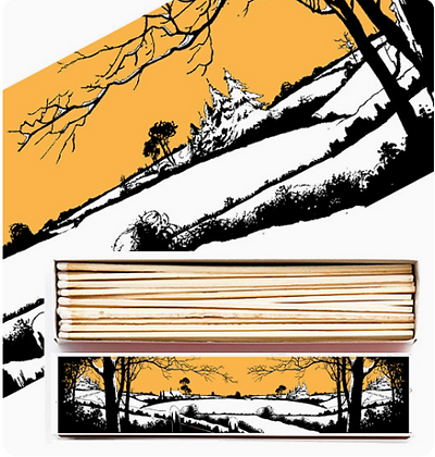 Snow Long Matchbox by Archivist Gallery