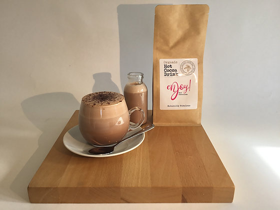 Raw Chocolate Hot Cocoa Drink by Enjoy!