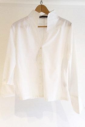 Upturned Collared Shirt by Perfekcija #30Wears