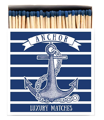Anchor Square Matchbox by Archivist Gallery