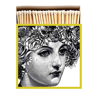 Lady Square Matchbox by Archivist Gallery