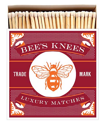 Bees Knees Square Matchbox by Archivist Gallery