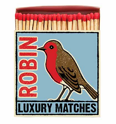 Robin Square Matchbox by Archivist Gallery