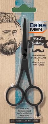 Beard scissors with Fine micro serration, 1 pc