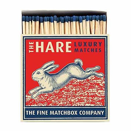 Hare Square Matchbox by Archivist Gallery