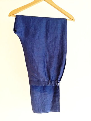 Linen Trousers by Marina Rinaldi