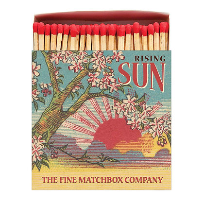 Rising Sun Square Matchbox by Archivist Gallery
