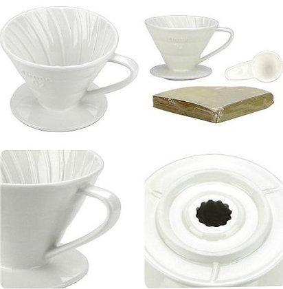 Ceramic Coffee Dripper by Cafe de Tiamo