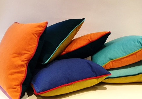 Linen & Cotton Cushions by Thom