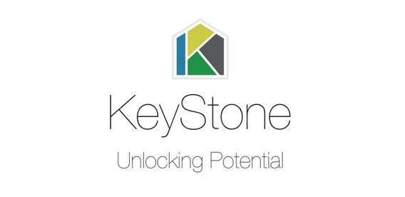 KeyStone Primary Logo Design