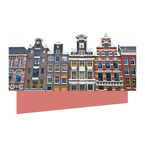 Amsterdam #4. Limited Edition Digital Art