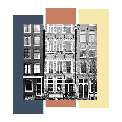 Amsterdam #1. Limited Edition Digital Art
