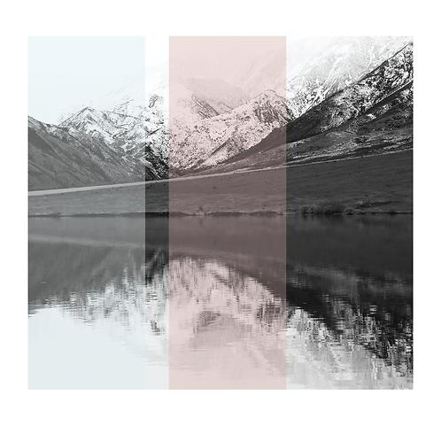 New Zealand #9. Limited Edition Digital Art