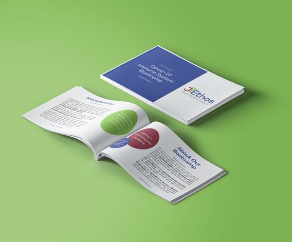 Bootcamp brochure design